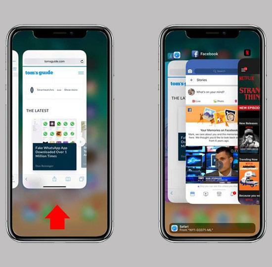 xoa ung dung chay ngam iphone 05 - Khắc phục lỗi không đăng nhập được Facebook trên Iphone, Android và Laptop 2019