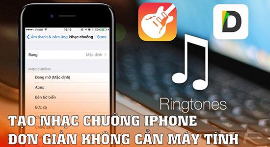 nhạc chuông iphone - 3 cách cài nhạc chuông iPhone mà bạn cần biết