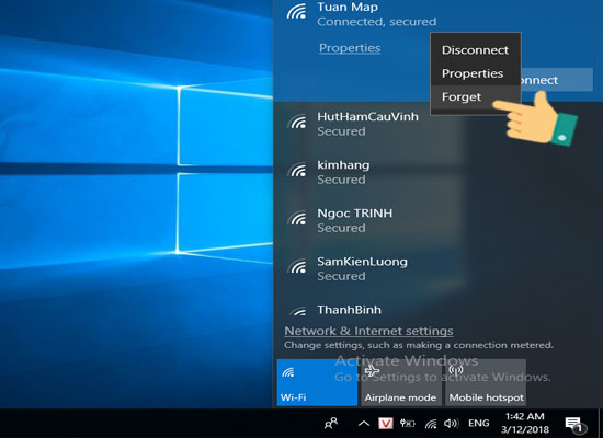 Cách khắc phục lỗi không kết nối được Wifi trên Windows 10