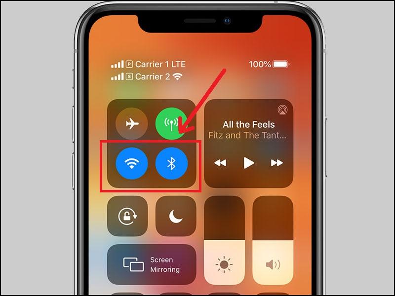 Nếu không có nhu cầu sử dụng mạng và Bluetooth, hãy tắt kết nối Wifi/3G và Bluetooth.