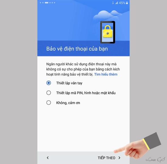 Hướng dẫn cài đặt ban đầu trên Samsung Galaxy S6 Edge Plus - 137744
